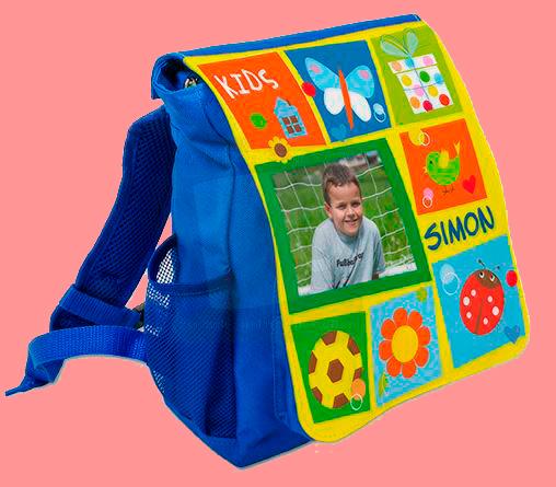 Rucksack blau je 18,90 Euro