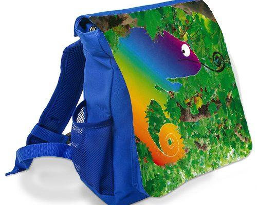 Kindergartenrucksack blau